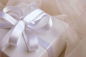 Decorative Pew Bows, Wedding Cake Ribbons