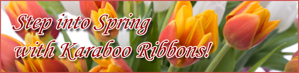 Spring Ribbon, Sheer Ribbon