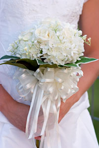 Bridal Floral Arrangements - Decorating Chairs, Pews, Tables