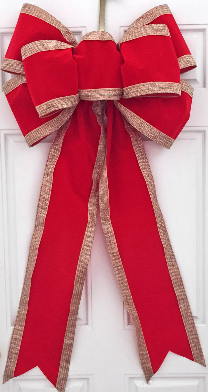 Christmas Bows, Large Outdoor Displays