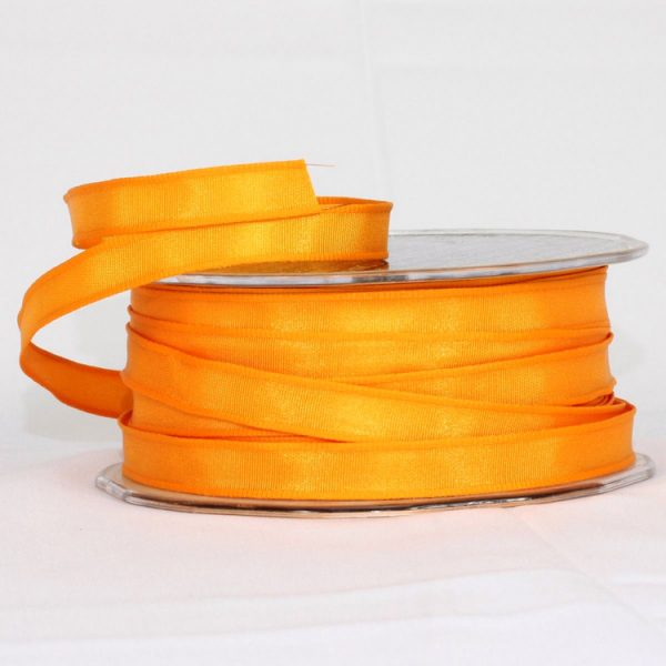 ORANGE TAFFETA RIBBON