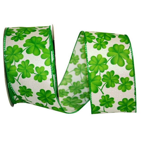 2 1/2 CLOVER ALL OVER 2 RIBBON