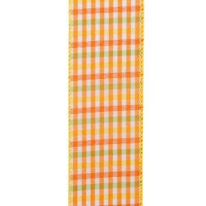 CITRUS GINGHAM CHECK
