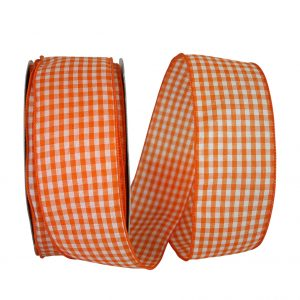 GINGHAM CHECK BRIGHT VALUE WIRED EDGE