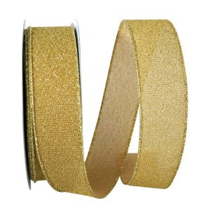 Sparkle Glimmer Radiance Ribbon Wire Edge