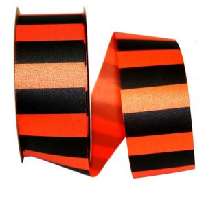 Fall Cabana Stripe Ribbon Unwired