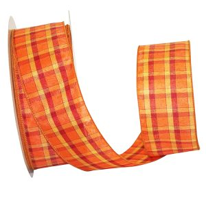 Plaid Festivals 2 Value Ribbon Wire Edge