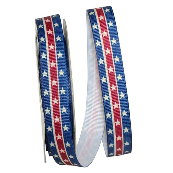 USA Grosgrain Ribbon Woven Edge