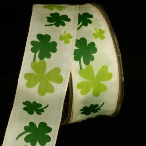 GREEN SHAMROCK RIBBON