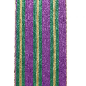 MARDI GRAS LAME STRIPE SWATCH