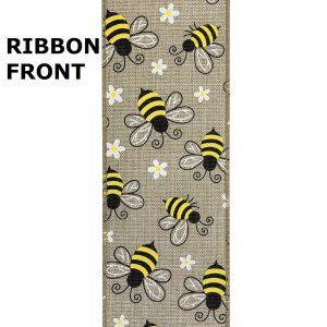 bubble bee ribbon front