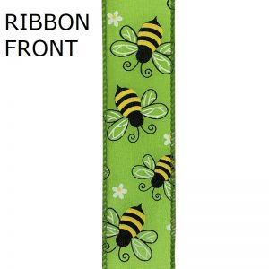 Bumble Bees Citrus Ribbon front