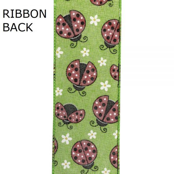 Lady Bug Ribbon Back