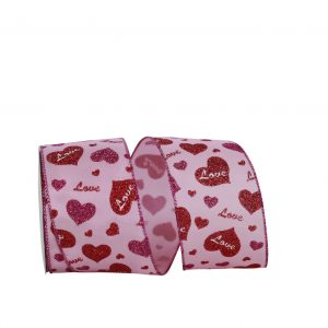 LOVE HEARTS RIBBON