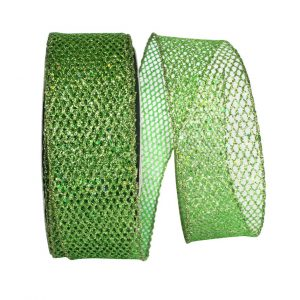EMERALD GREEN GLITTER NET