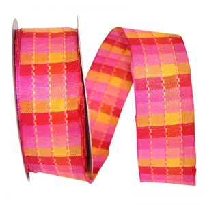PLAID SHOCK RIBBON