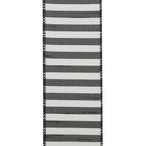 CABANA STRIPE DUPIONI WIRED SWATCH FRONT