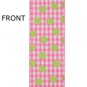GINGHAM CHECK DOTS-93240-156