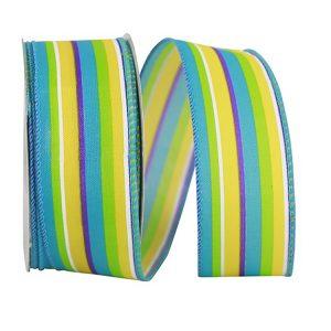 Stripe Bright Combo Ribbon