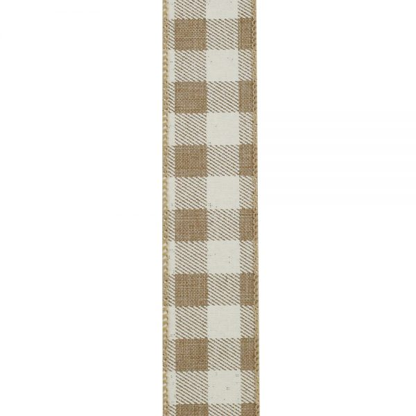 TWILL CHECK PRINT LINEN-9 FRONT