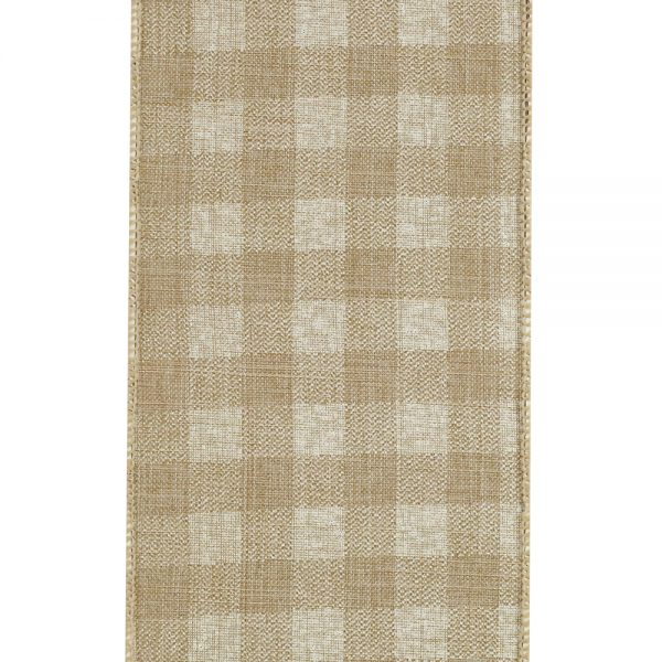 TWILL CHECK LINEN SWATCH-10