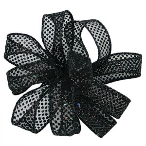 Black Bolton Ribbon