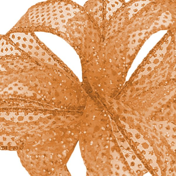 ORANGE cREAMBOLTON RIBBON