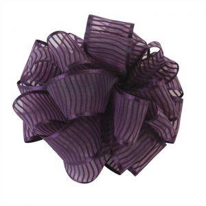 Antonia Eggplant Ribbon