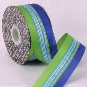 Center Wire Spring Stripe Ribbon