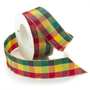 HIGHLAND CHECK RIBBON
