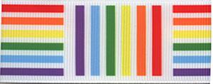 Rainbow Geo Swatch
