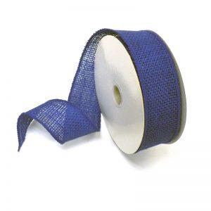 ROYAL BLUE BURLAP