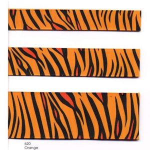 tiger color card