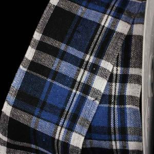NAVY Black Kilt Ribbon
