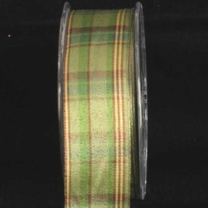 Canterbury Plaid Ribbon