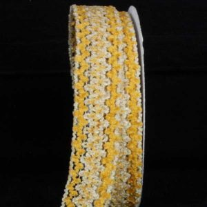 Chenille Ribbon Wire Edge