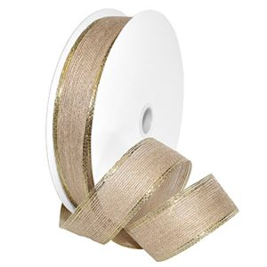 Natural Glamour Jute Ribbon