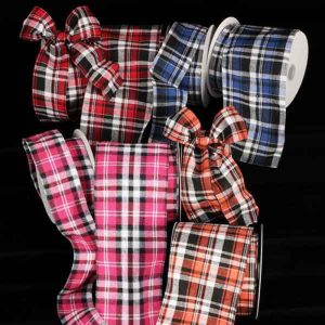 BLACK KILT RIBBON ALL COLORS