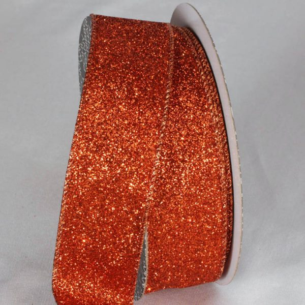 COPPER Holiday Sparkle Ribbon