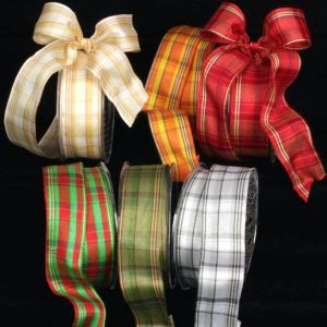 WiredALL Canterbury Plaid Ribbon