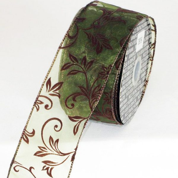 Green Sheer Ambria Ribbon