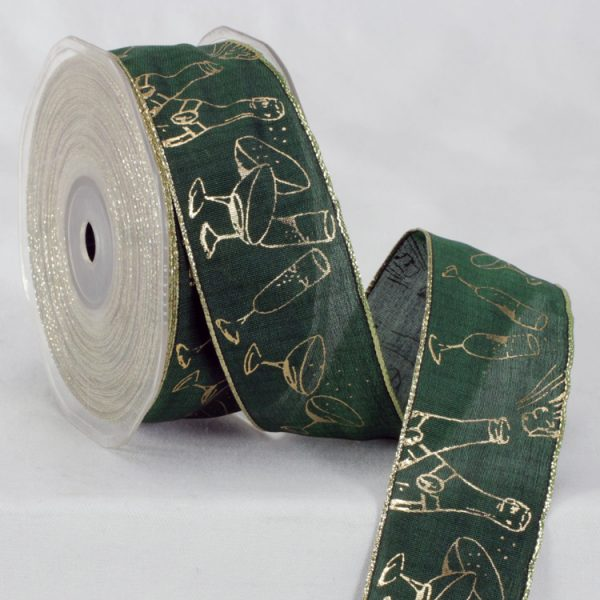Champagne Party Ribbon