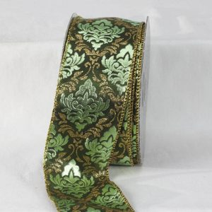 GREEN AND GOLD Alexandre Ribbon