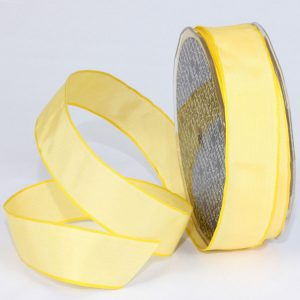 LEMON TAFFETA RIBBON