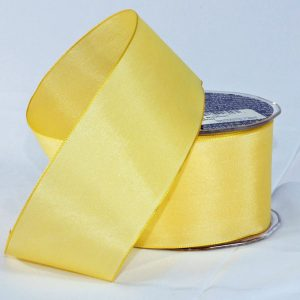 YELLOW TAFFETA RIBBON