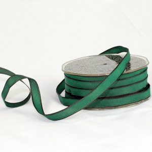 HUNTER GREEN TAFFETA RIBBON