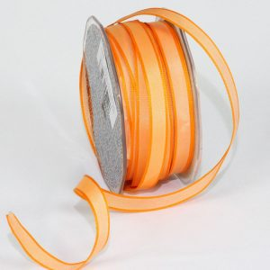 "3/8"" PEACH TAFFETA RIBBON"
